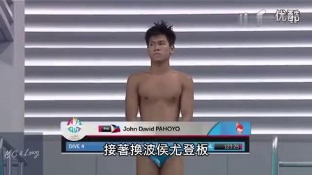 菲律宾猴子跳水最强解说,超搞笑!