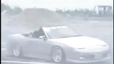 车技漂移特技表演