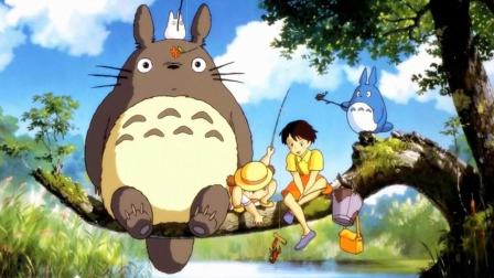 1988年宫崎骏经典动画片《龙猫》一部带我们拾起遗落在童话的好电影