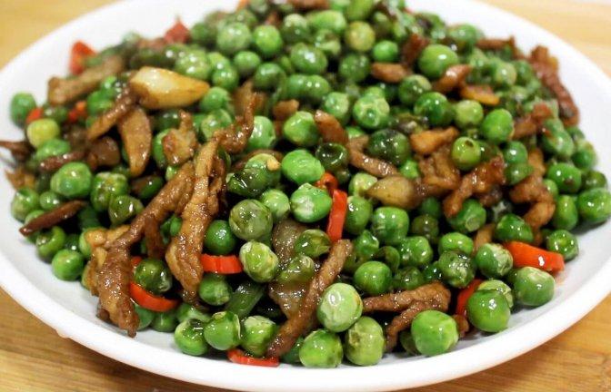 青豌豆好吃的做法,多加这一步好看又入味,孩子们特喜欢