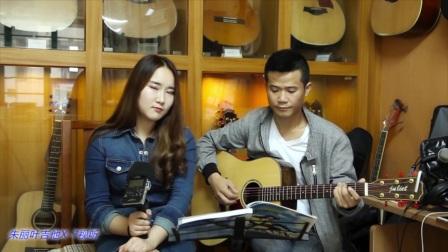 璐璐《红蔷薇》朱丽叶指弹吉他弹唱