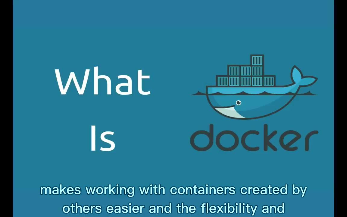 【 Docker容器学习 】学习Docker Learn Docker (合辑)(英文字幕)