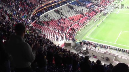 欧联杯决赛结束后切尔西球迷。。。