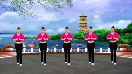 16步广场舞《老妹你真美》歌曲欢快, 好听又好学!