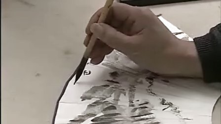 霍春阳画芭蕉