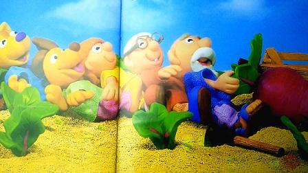 儿童故事《拔萝卜》