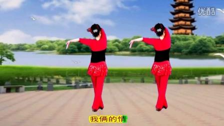 吕芳广场舞简单好学《DJ纤夫的爱》正背面加分解动作