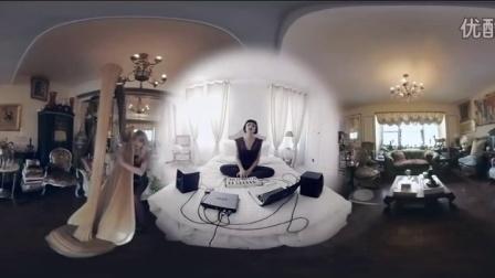 U2乐队360度全景MV【Song for Someone】1K测试视频