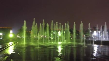 2016.10.09西安大雁塔音乐喷泉