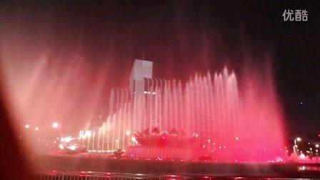 济南泉城广场音乐喷泉,和心爱的人一起去看吧