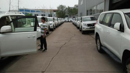 野性十足, 动力强劲 17款丰田霸道4.0中东版普拉多4000天津港最新市场行情