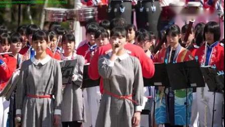 好听!日本高中女生演唱《歌唱祖国》