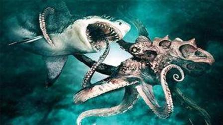 远古巨齿鲨直接跃起,咬断金门大桥,只能用另外史前巨兽来消灭它