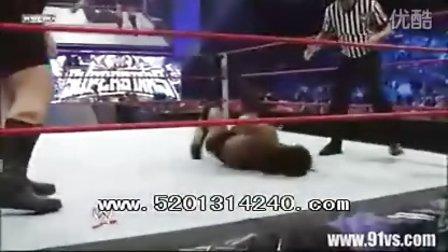 WWE大秀哥vs金斯顿