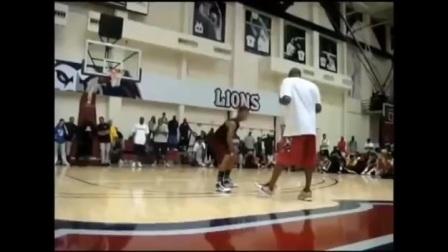 NBA球星与小球友的对决 杜兰特的亮了