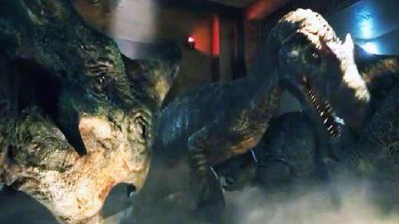 《侏罗纪世界2》恐龙被困有毒屋内,怕放生跑到室外