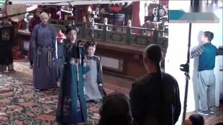 《延禧攻略》幕后花絮之娴妃,拍戏讲的都是粤语,最后一句切回普通话
