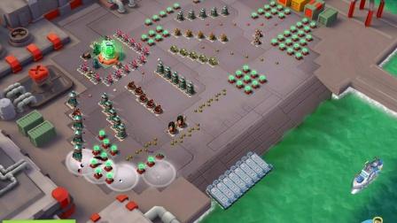 【Healer游戏】海岛奇兵BoomBeach#25人特遣队990任务#妹妹单挑策略