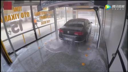 无痕全自动洗车, 效率比人工洗车还要干净10倍