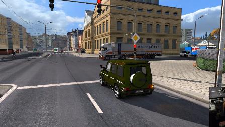 欧洲卡车模拟2_1.27 (奔驰G65)