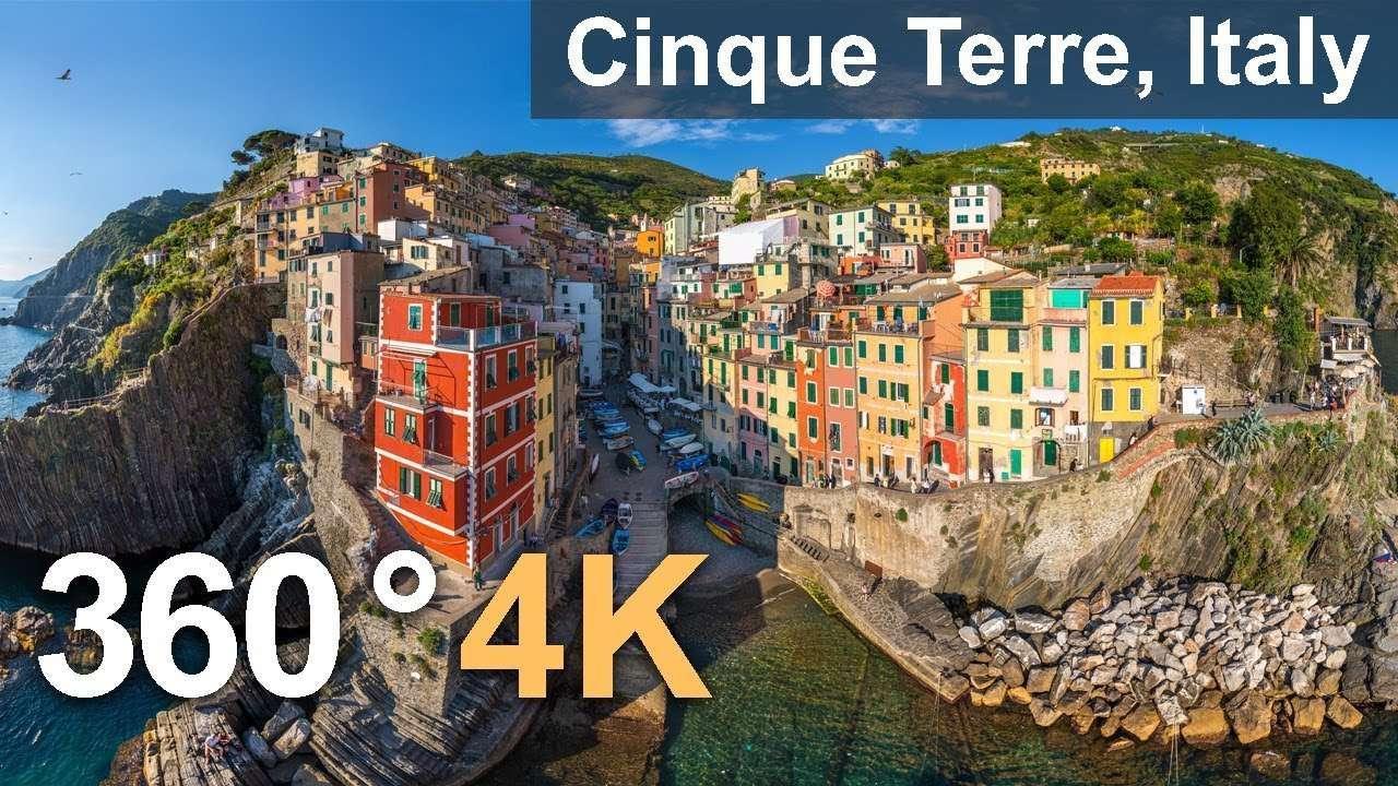 360°看意大利最美小镇五渔村