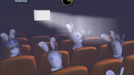 幻云游戏实况搞笑小游戏疯狂的兔子2电影院打手机