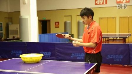 《好动学院》正手发转与不转发球技术_乒乓球教学视频教程