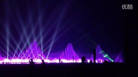章丘绣源河音乐喷泉1