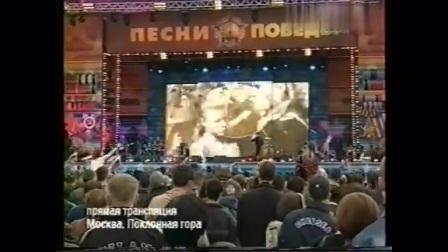 海豚音维塔斯现场一首歌, 观众快把舞台挤塌了