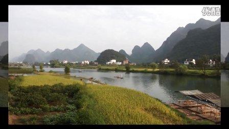 桂林山水阳朔河流小漓江自然风景音画欣赏世界看中国之窗地球的力量