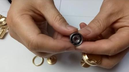 进口陶瓷轴承指尖陀螺视频