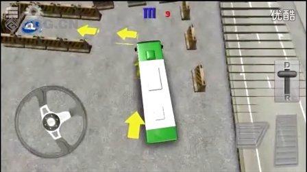 ★手机游戏★(安卓 苹果)《3D巴士停车》试玩视频