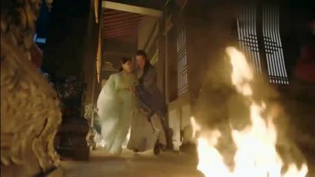 因抖音火的电视剧《小女花不弃》剧中孕妇为逃生能跑能打滚厉害了