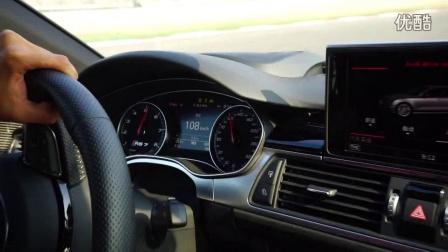 奥迪RS7上海F1赛道Hot Lap极速超过250km/h