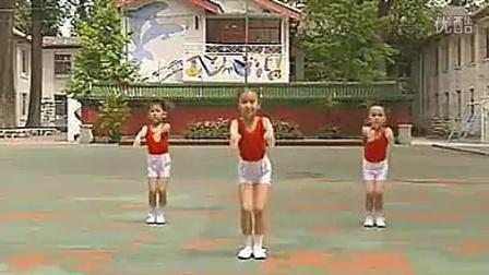 [世界真美好幼儿广播体操]第二套全国幼儿广播体操视频_512x284_2.00M_h.264