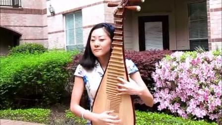 琵琶演奏中国好歌曲霍尊的《卷珠帘》
