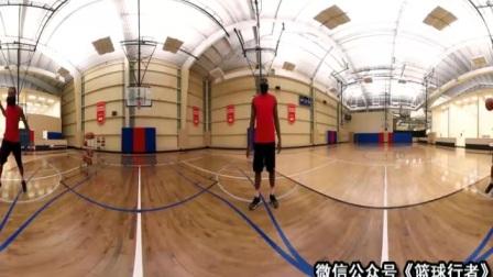 詹姆斯-哈登在360比赛 篮球教程