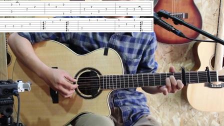 吉他教学 指弹吉他基本功练习 (60) 墨音堂