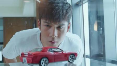 极速青春:当看到这个汽车模型时,路杰怀疑天野可能是杰森的儿子