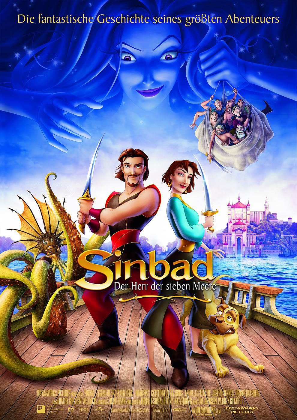 辛巴达七海传奇 2003版