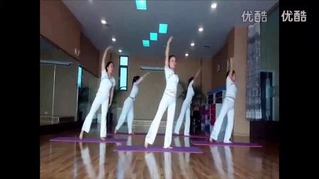 瑜伽视频教程初级瑜伽球