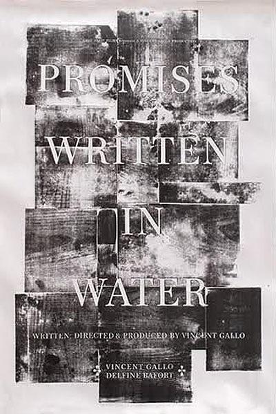 写在水中的承诺