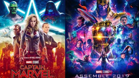 《惊奇队长》《复仇者联盟4》明年接力上映,漫威迎来终局之战!