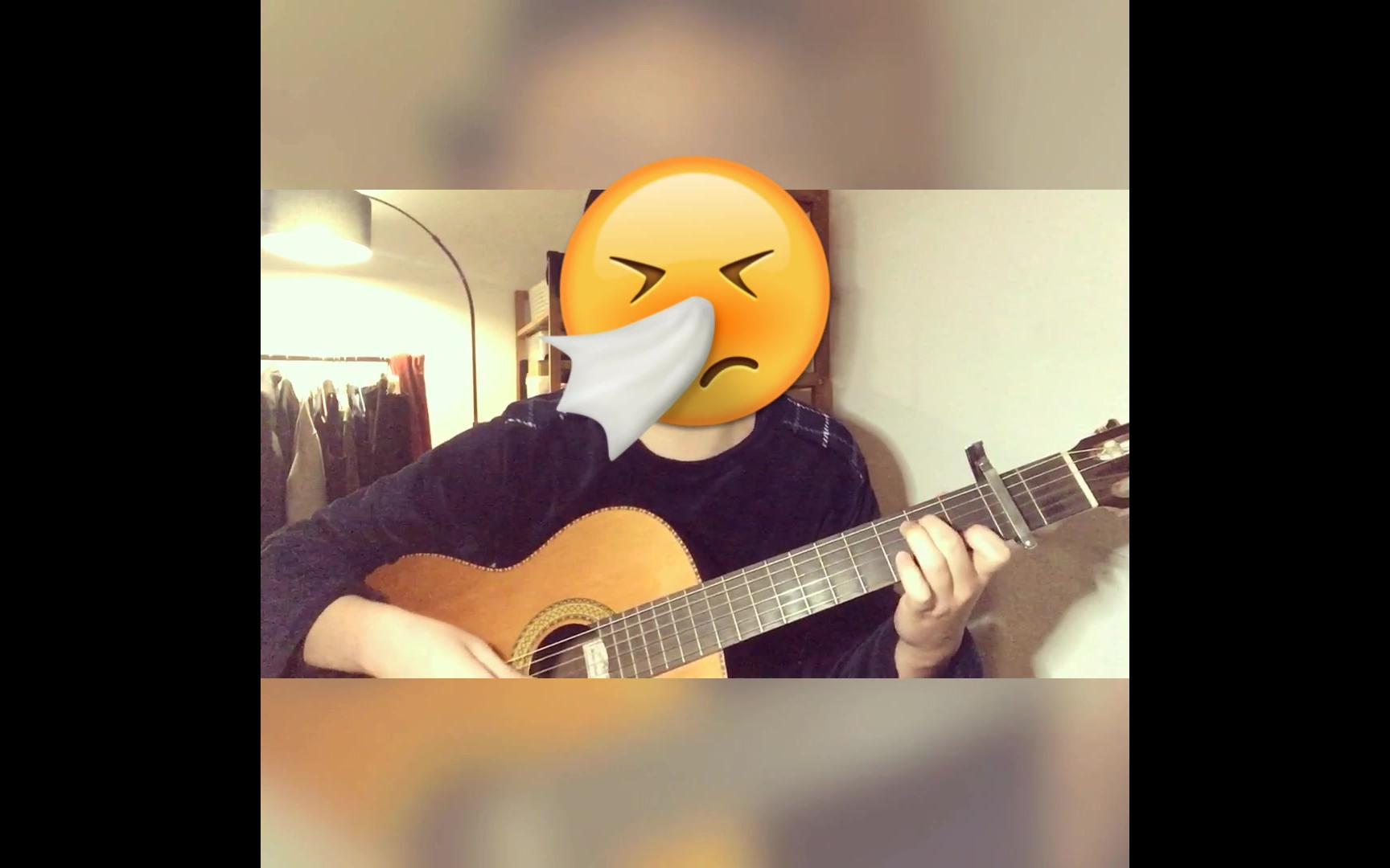 《女儿情》吉他弹唱 C调朴素简单版