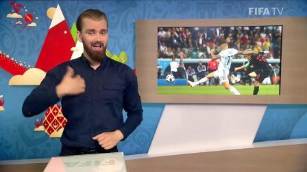 2018年FIFA世界杯-克罗地亚VS阿根廷-聋人使用国际手语