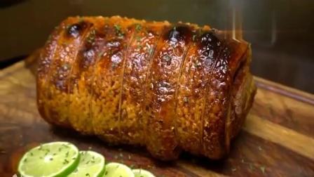 风味人间:五花肉的新吃法,切开的那一刻,我敢说绝对比烤猪还好吃