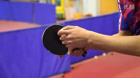 《好动学院》下蹲式砍式发球_乒乓球教学视频教程