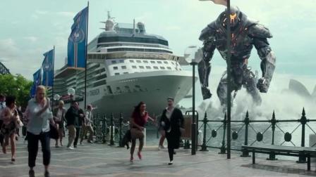 最新电影《环太平洋2雷霆再起》,终于白天看到高清战甲