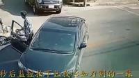 女司机遇上本田男司机,5秒后监控拍下让我心如刀割的一幕