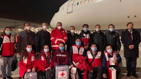 飞越9619公里!中国专家组逆行意大利抗疫一线,机长致辞令人泪目
